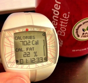 cals for 8.1 km oct 5 2012